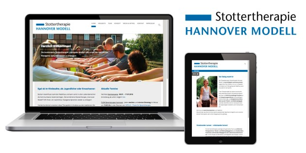 Stottertherapie Hannover Website Webdesign