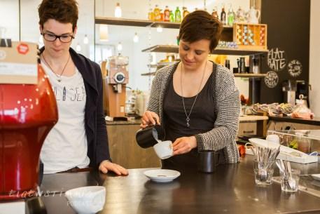 Steffi (links) und Kathi (rechts)
