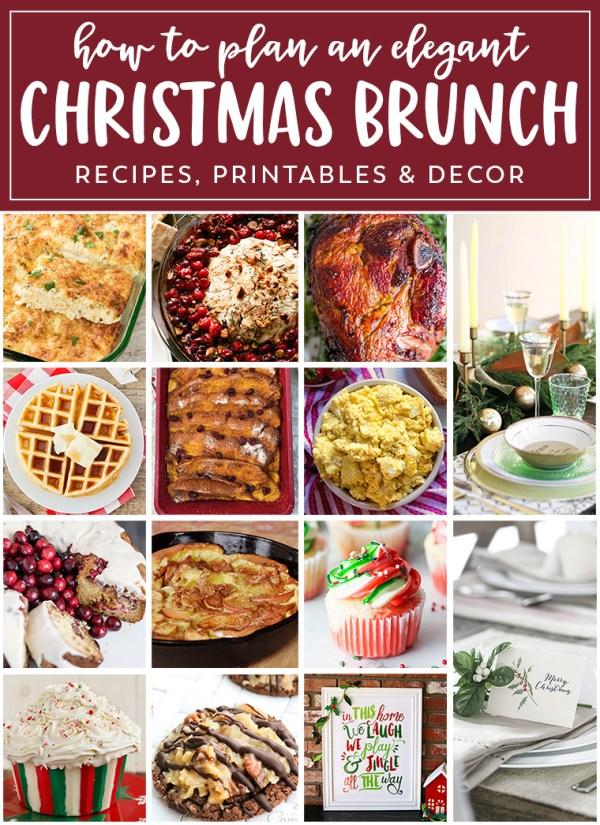 Planning the Perfect Christmas Brunch Eighteen25