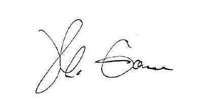 Madeleine Garone signature