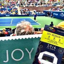 JOY at The US Open