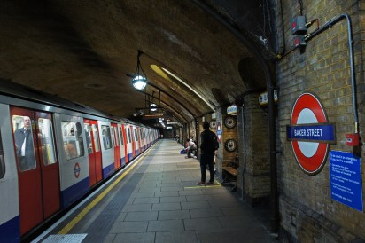 Baker Street station, London Tube