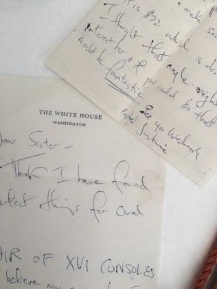 A closer look at a letter from Jackie Kennedy to Sister Parish