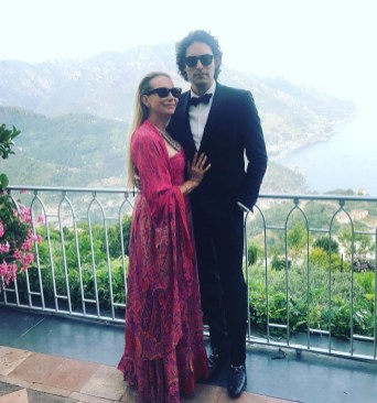 Me and my husband in Italy