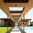 The architecture on Frank Sinatra's former home