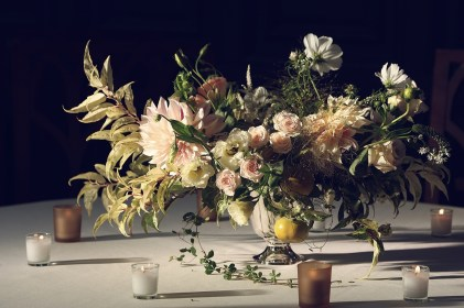 Beautiful arrangement by Putnam & Putnam
