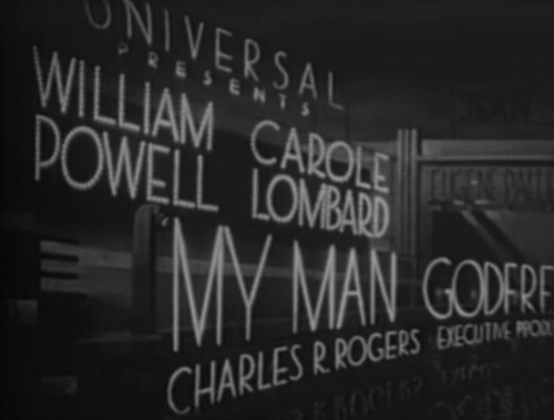 My Man Godfrey intro