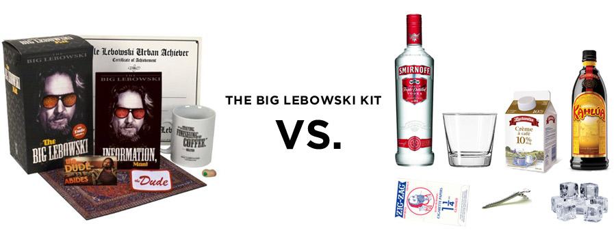Two Lebowski Kits fight it out