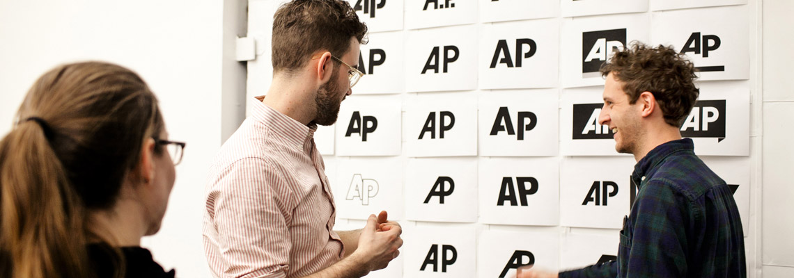 Objective Subject's AP logo evolution