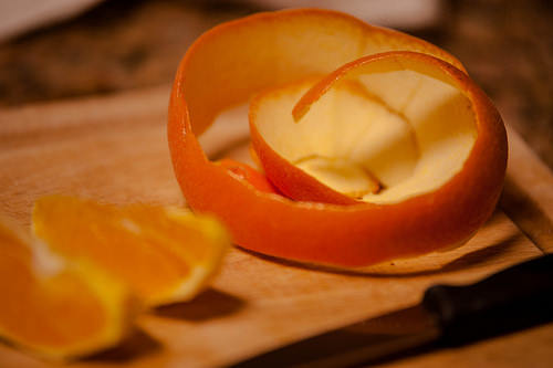 orange peel - image