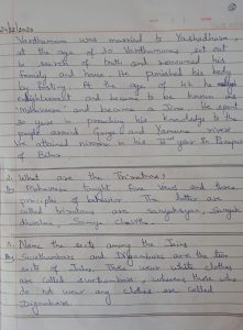 8th std Social Studies-Rise of Jainism And Buddhism-(Notes