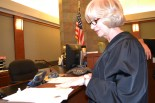 In early June, Judge Carolyn Ellsworth married specialty court participant to his new love.