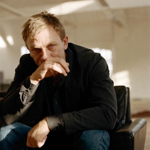 Daniel Craig Crying