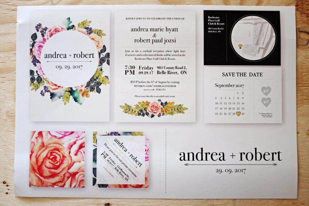 AndreaRob Invitations