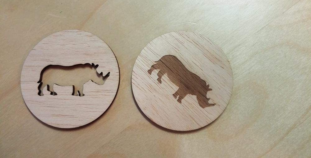 Wood Rhinos