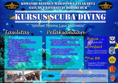 Kursus Scuba Diving Sertifikasi CMAS POSSI Jakarta