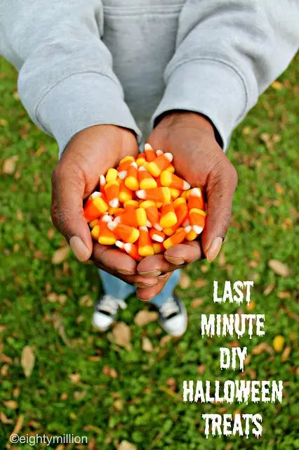 Last Minute DIY Halloween Treats