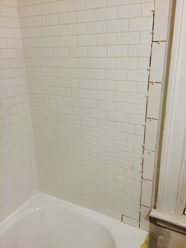 grout fixtures and bullnose eighty
