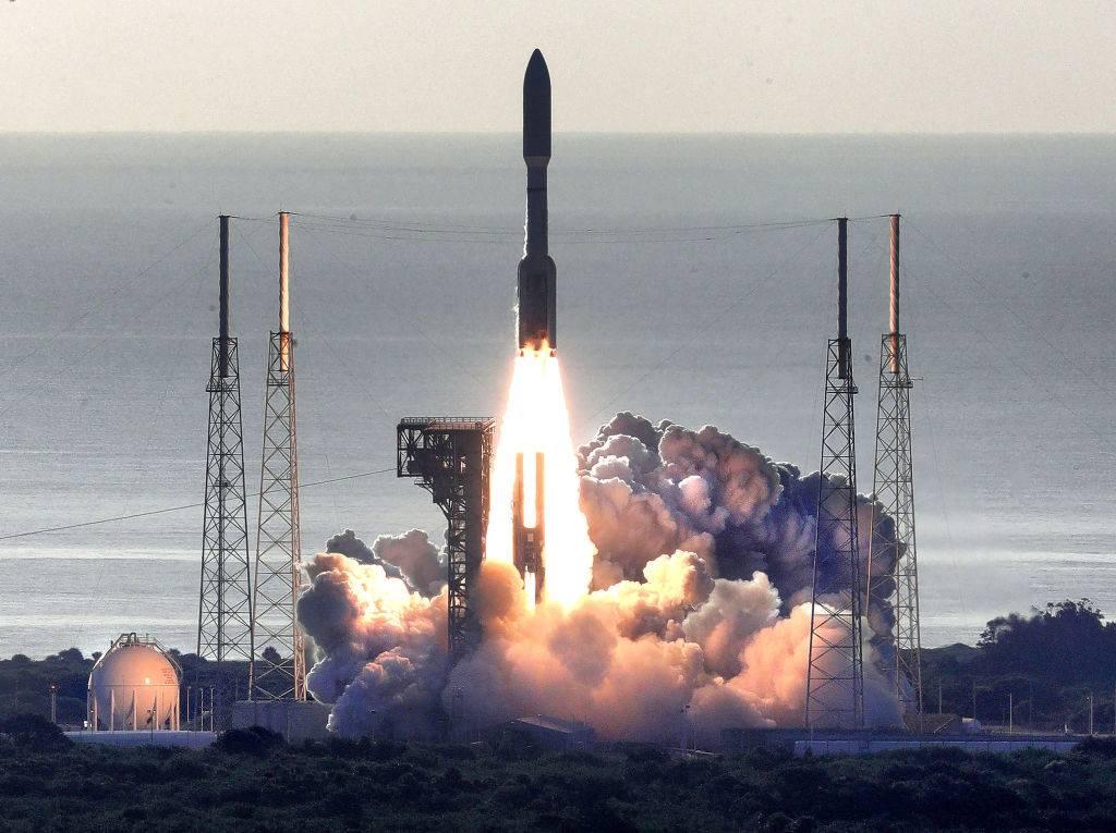 パーサヴィアランスロケット発射