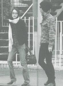 柴咲コウと松本潤の報道写真