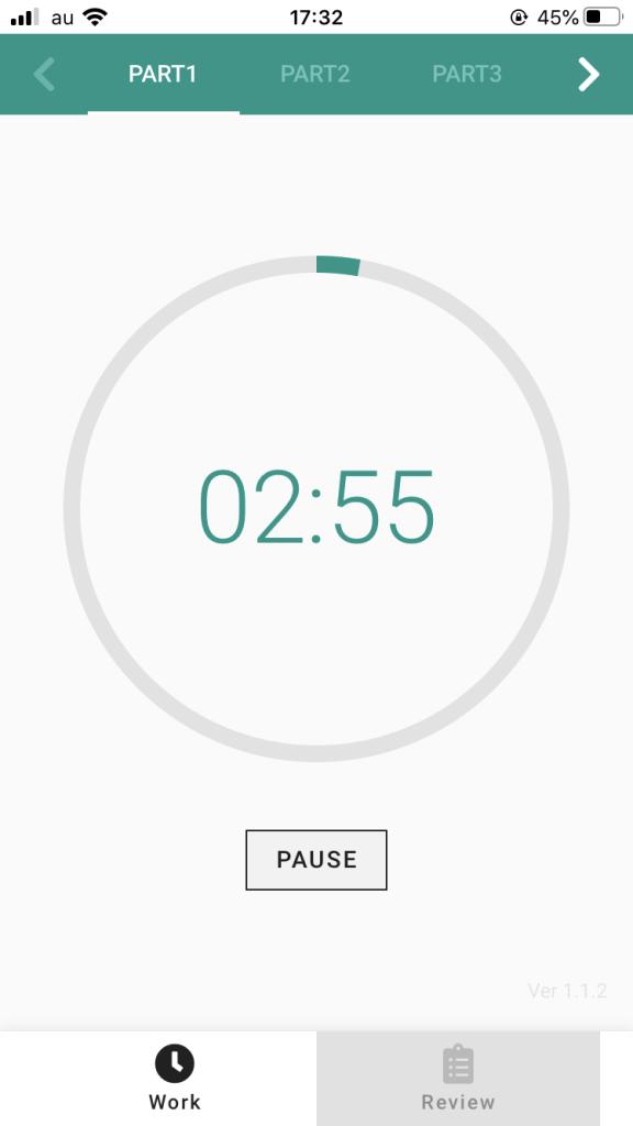 IMG 2726 - 【2020年版】時間不足を解決する!おすすめオリジナルアプリ TOEIC TIMER