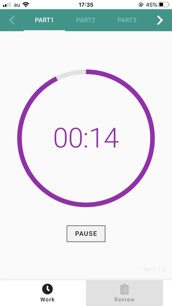 IMG 2727 - 【2020年版】時間不足を解決する!おすすめオリジナルアプリ TOEIC TIMER