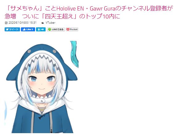 image - 【初級編】ホロライブEnglishでVTuberと英語学習!