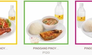 Goldilocks Pinggang Pinoy Meals
