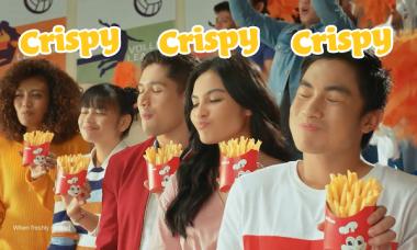 Crispy-Sarap Fries AD Will Get You Rushing to the Nearest Jollibee!