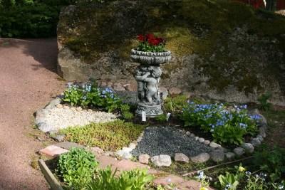 Yksityiskohta puutarhassa