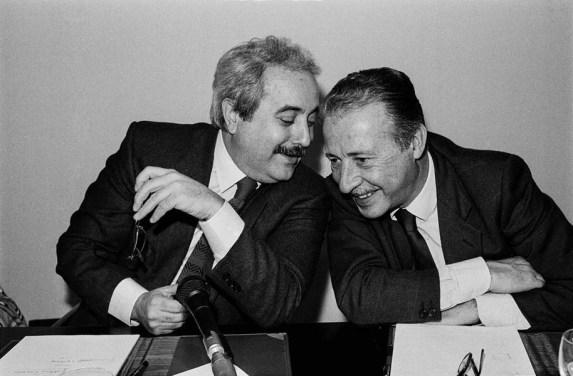 Falcone e Borsellino by Tony Gentile