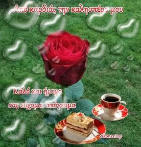 Καλησπέρα στους φίλους & φίλες με την αγάπη μου