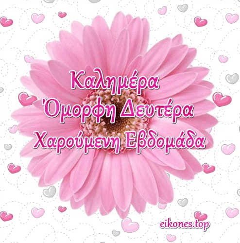 Read more about the article Όμορφη Δευτέρα  Χαρούμενη Εβδομάδα(εικόνες)