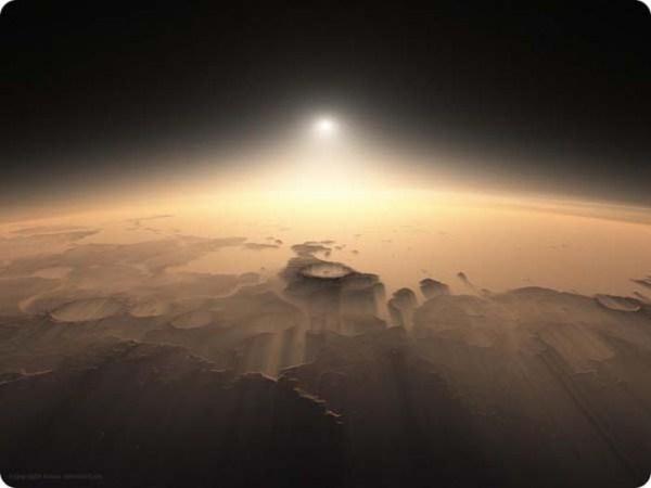 η ανατολή του Ηλίου από τον Άρη_eikones.top