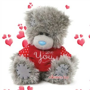 Love valentines teddy bears