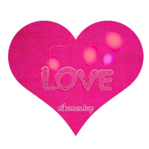 Hearts for Love and I Love You in different colors!-eikones.top