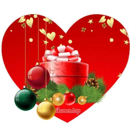 Χριστουγεννιάτικες Καρδιές-eikones.top