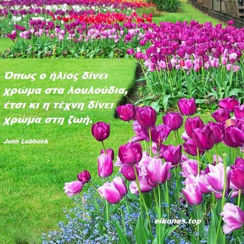 Σοφά Λόγια Για Τα Λουλούδια -eikones.top