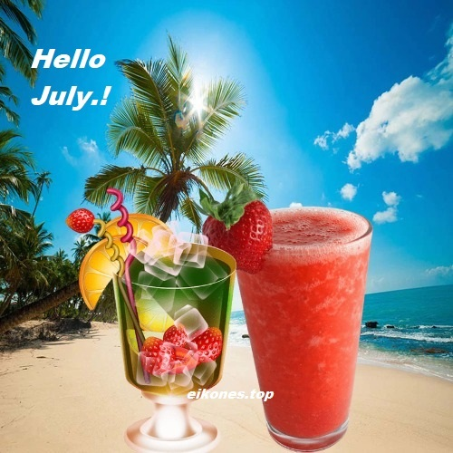 Hello July Pictures-eikones.top