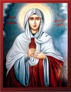 Read more about the article Έρρανε τον Τάφον η πρώτη Μυροφόρος Μαγδαληνή Μαρία