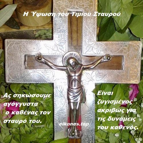 Ας σηκώσουμε αγόγγυστα ο καθένας τον σταυρό του.-eikones.top