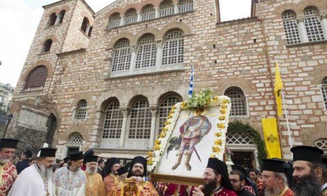 Read more about the article Άγιος Δημήτριος: Γιατί θεωρείται προστάτης της Θεσσαλονίκης