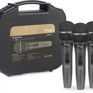 Stagg SDMP15-3 3-pack