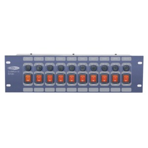Showtec DJ-Switch 10-kanaals Switchboard