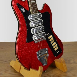 Welson Red Sparkle 4 Pickups 1963