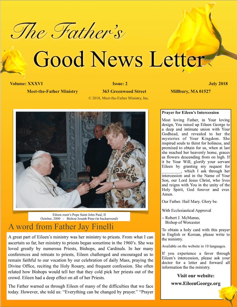 Our new full color newsletter.