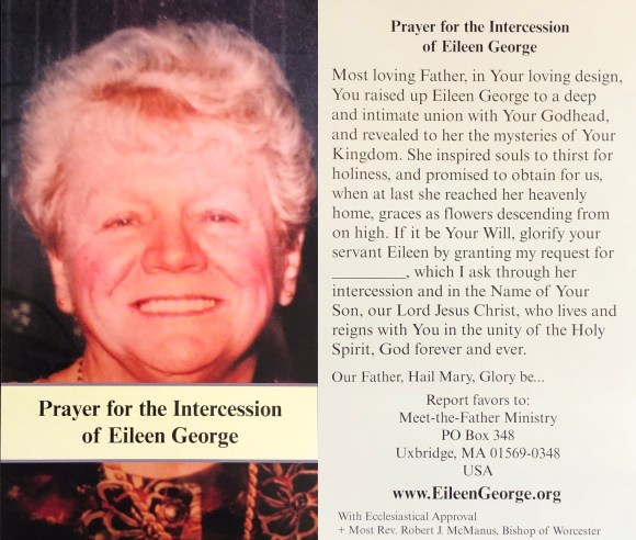 Prayer Card In English