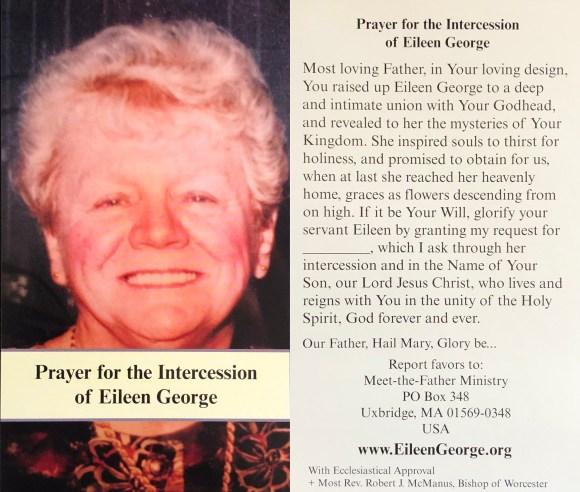 Prayer Card In English