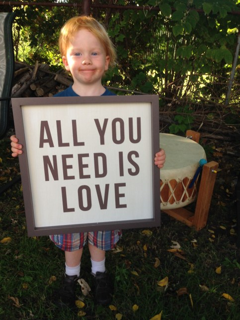 kid all you need is love