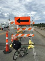 It's Construction Season #36 Franklin Ave Bridge